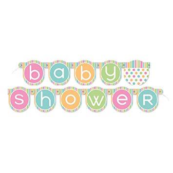 Babyshower Girlang Baby