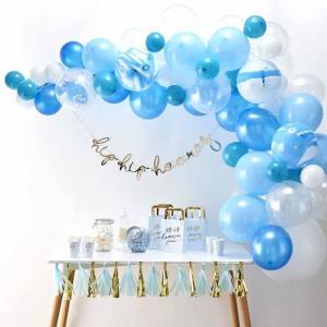 Ballongbåge Kit blå