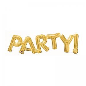 ballong Party guld