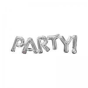 ballong Party silver