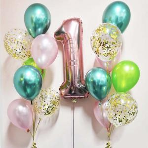 födelsedags ballongbukett unik
