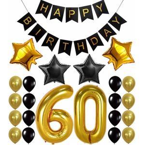 Födelsedags mega kit girlanger och ballonger