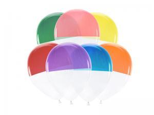 Bi-fargade ballonger