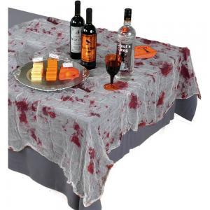 Blodig bordsduksöverlägg