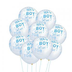 Latexballonger 100-pack its a boy blå