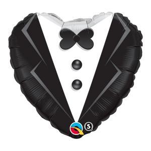 frak brudgummen heliumballong