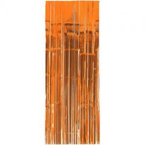 glitter Dörr draperi brons/orange