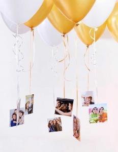10st heliumballonger med foto