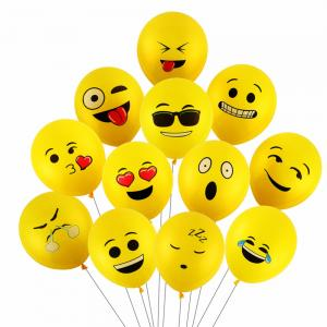 Emoji ballonger latex