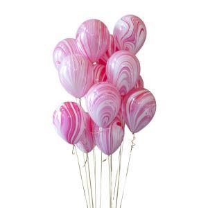 14st helium ballonger marmor