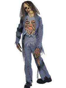 Zombie corpse dräkt Teen size