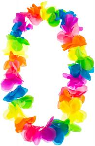 Lei HAWAIIKRANS Multicolor medium