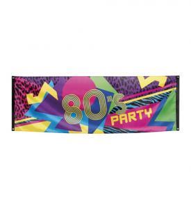 80-tals Banner 74x220cm