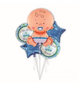 Baby boy ballong