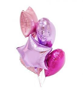 Alla hjärtansdag ballongbukett