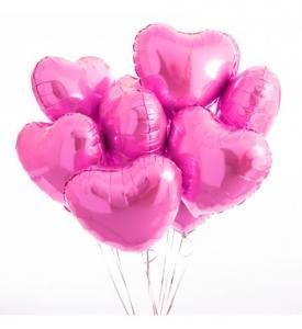 Alla hjärtansdag 8st ballonger