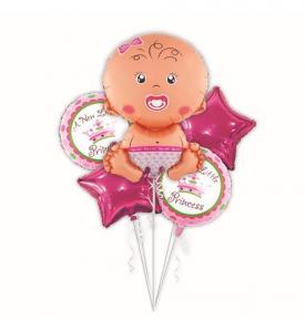 Baby girl ballong