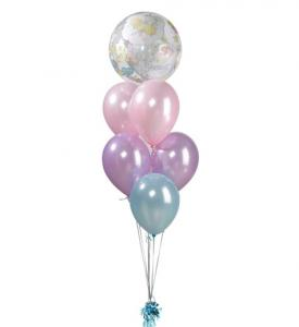Ballongbukett Babyshower Inkl Helium