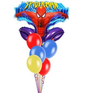 Ballongbukett Spiderman inkl helium 1