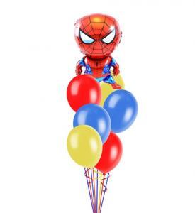 Ballongbukett Spiderman inkl helium 2