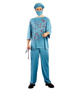 Blodig Kirurg uxen dräkt