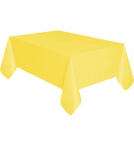 Bordsduk Plast Gul