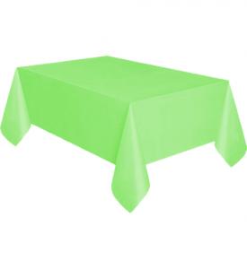 Bordsduk Plast Limegrön