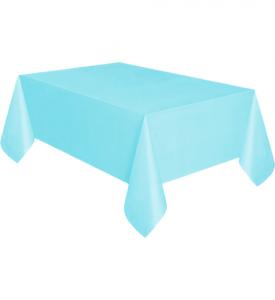 Bordsduk Plast Ljusblå