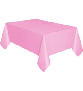 Bordsduk Plast Cerise Rosa