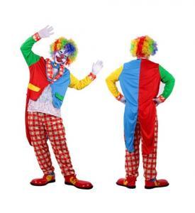 Uthyrning Clown Maskeraddräkt