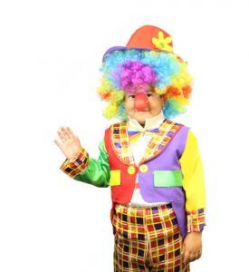 Clowndräkt Barn Maskeraddräkt