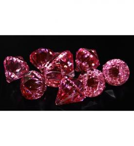 Diamant Konfetti cerise rosa 12mm