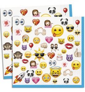 Emoji Servetter 16-pack
