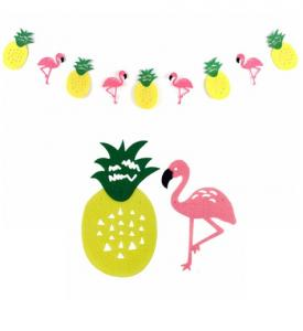 Flamingo ananas girlang 3,5m