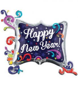 Folieballong Nyår