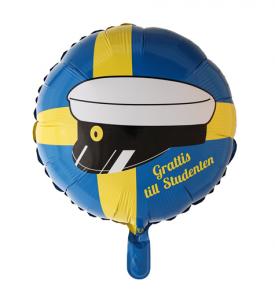 Heliumballong Studentmössa