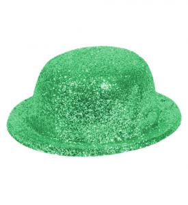 Glittrig Kubbhatt  Grön