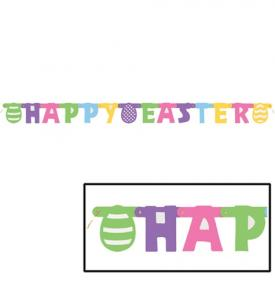 Happy Easter Banner 1,43m
