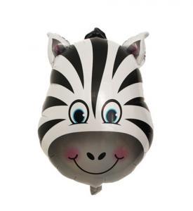Heliumballong Zebra Huvud