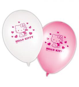 Hello Kitty Latexballonger 8-pack