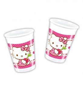 Hello Kitty Plastmuggar 8-pack