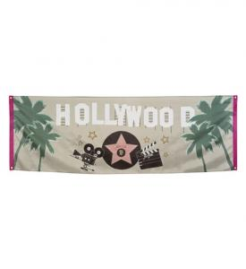 Hollywood Banner 74x220cm