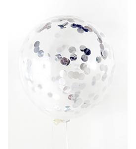 Konfetti Ballong 45cm