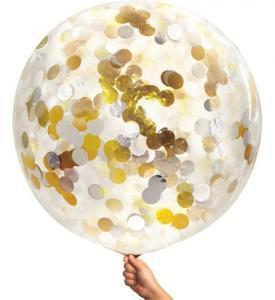 Konfetti Ballong 80 cm
