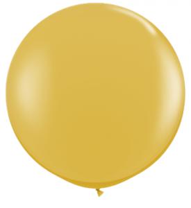 Latex Ballong 30tum Guld