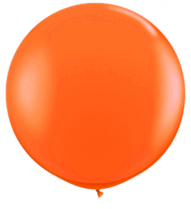 Latex Ballong 30 tum Orange