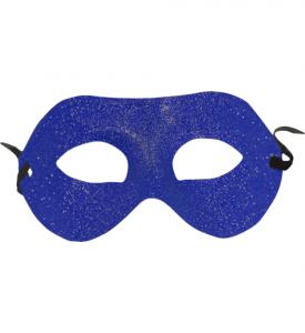Ögonmask Glittrig  Blå