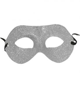 Ögonmask Glittrig  Silver