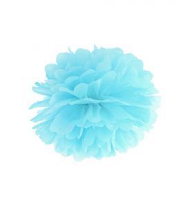 Pom Pom bollar 20cm  Ljusblå