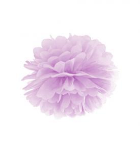 Pom Pom bollar 30cm pastell lila